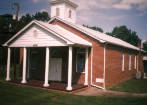 Piney Grove Baptist Church, Saxe